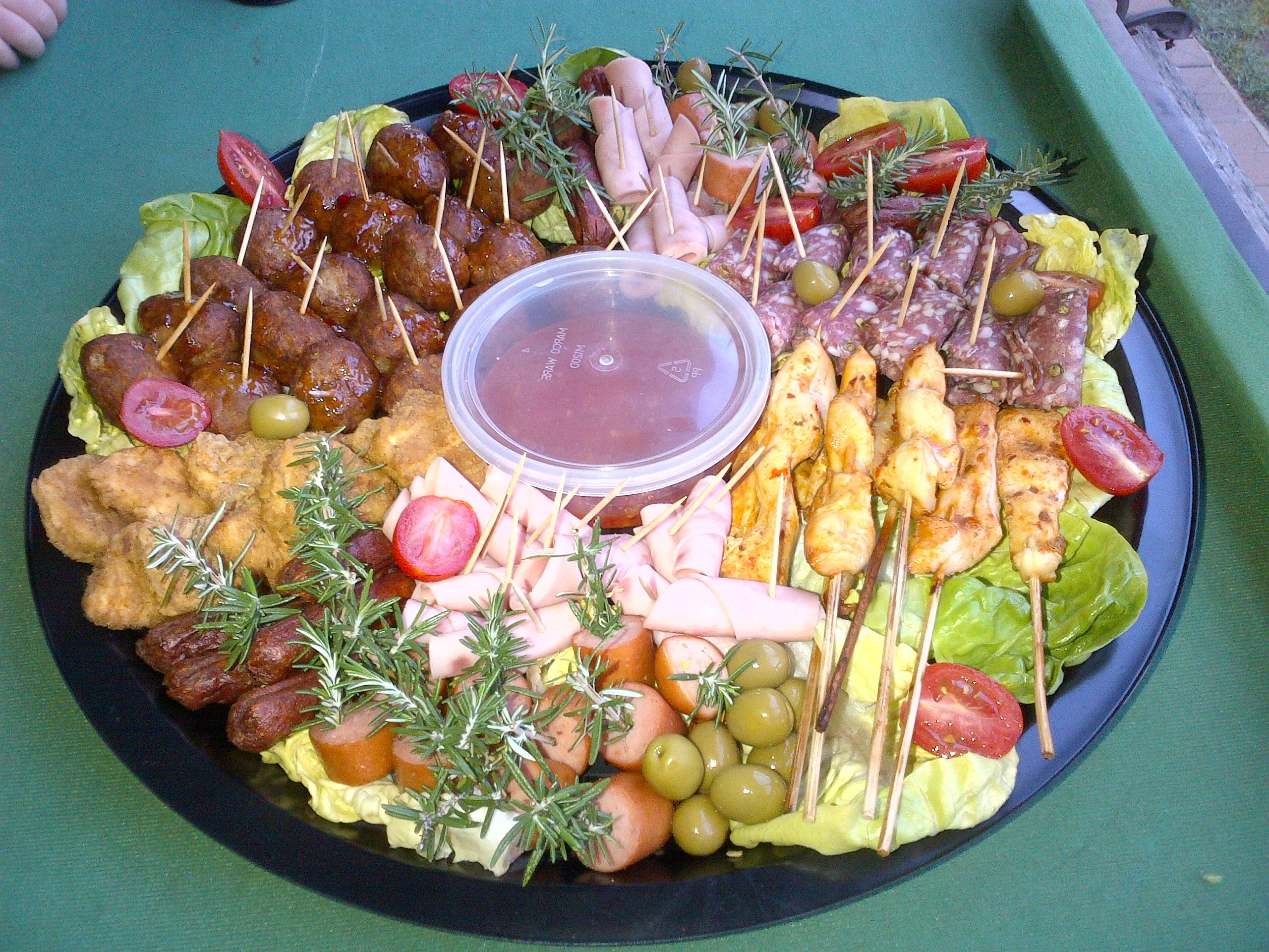 3 peppers platters catering